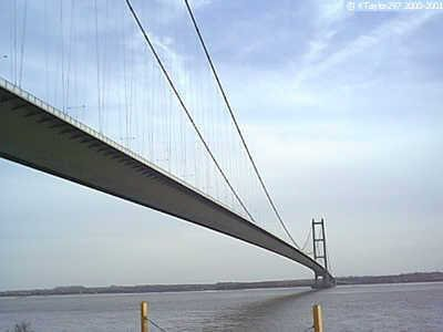 View of Humber Bridge